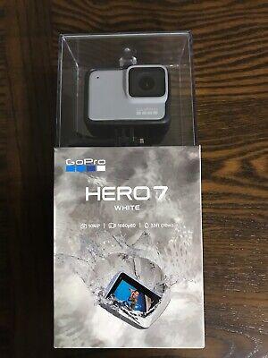 GoPro HERO7 White, 1080p60 Action Camera, 10MP, 33ft Waterproof, Brand New