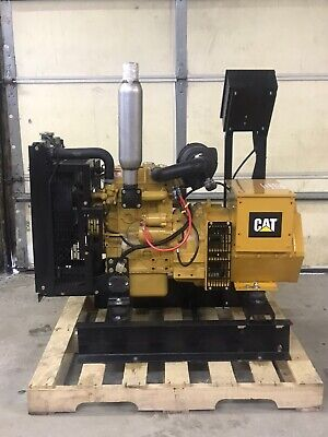 New 8 Kw Generator Caterpillar C1.1 Diesel Tier 4 Re-connectable 277480 Volt