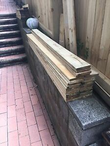 Treated timber fence cladding 1.8m. Long Seaforth Manly Area Preview