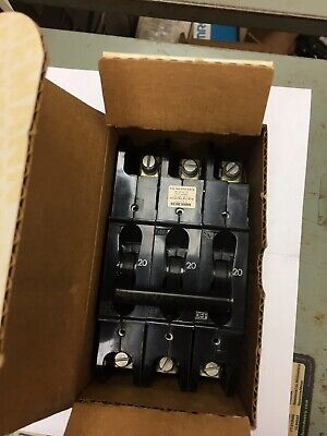 Heinemann Circuit Breaker Cf3-g3-u 20a 240vac 3 Pole Many Available New In Box