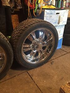 Ford F-250 - 350. 8 bolt rims n tires forsale