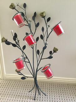 Garden/Wall Metal decorative candle holder