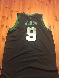 Limited Edition Boston Celtics Jersey Rondo