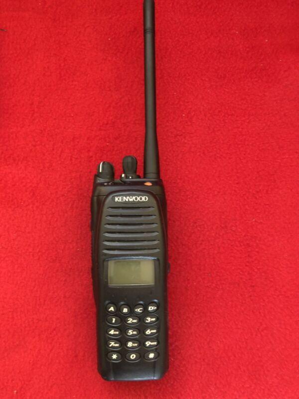 Kenwood TK-5210 K3 VHF P25 Radio Talkie Handheld full keypad 136-174 MHz.