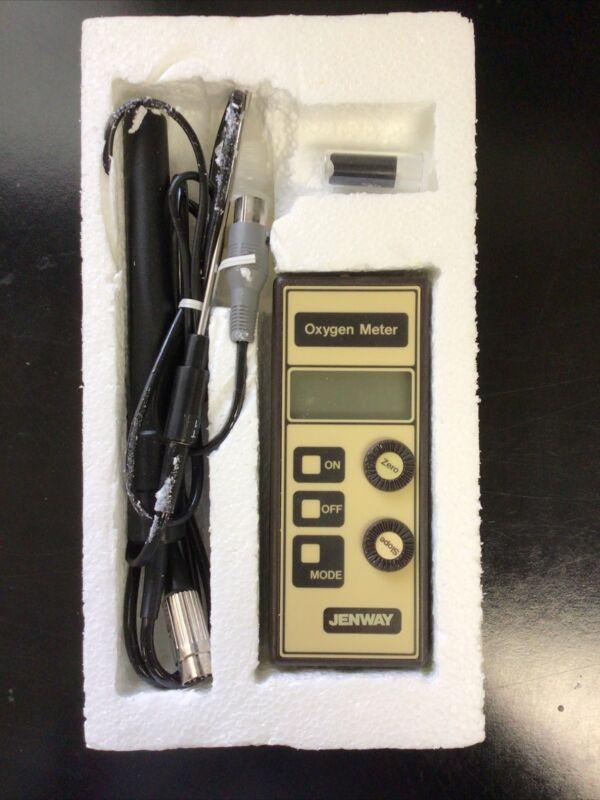 Jenway Model 9070 Dissolved Oxygen Meter & Probes