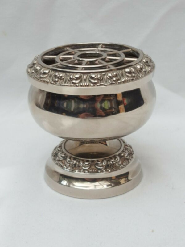 Vintage Silver Plated Ianthe Rose Bowl, Urn