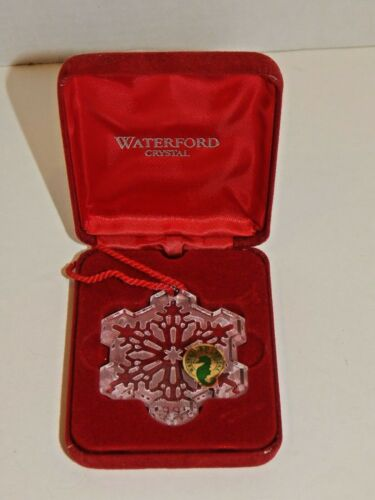 Waterford - The Snow Crystal Collection - 1995 Crystal Ornament - FIRST EDITION