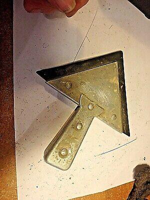4v -vintage Tuff-kote Corner Drywall Tool -rubber Edge