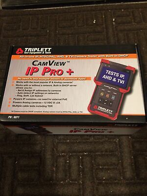 Triplett Camview Ip Pro Ip And Analog Security Camera Tester