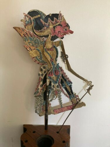 Antique/Vintage INDONESIAN Shadow PUPPET  Wayang Kulit