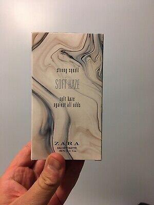 *RARE* ZARA SOFT HAZE Men's Perfume 100 mL 3.4 oz Cologne Creed SMW Dupe Htf