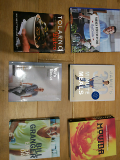 6 cookbooks in great condition