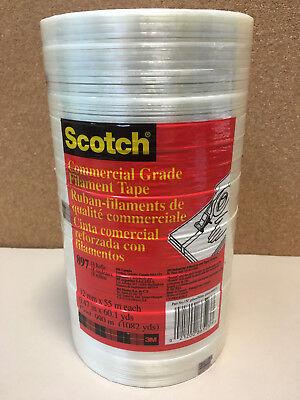 - Scotch 897 Commercial Grade Filament Tape 12 mm x 55 m .47 X 60.1 Yards 18 Rolls