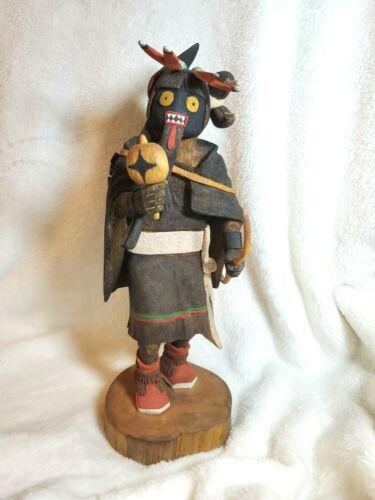 Native American Hopi Warrior Maiden Kachina by Philbert Poleyestewa