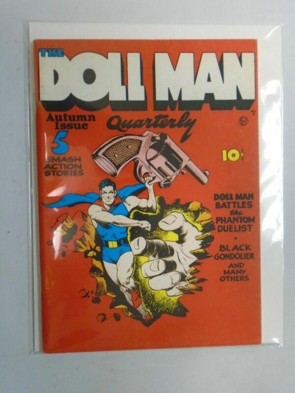 Flashback #9 Doll Man Quarterly #1 1941 reprint 5.0 VG FN (1974 DynaPubs)
