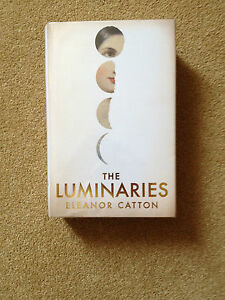 THE-LUMINARIES-Eleanor-Catton-SIGNED-LINED-DATED-2013-UK-HB-1st-1st