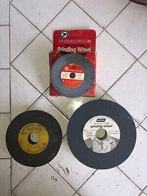 Norton Prairie Grinding Wheels - Set Of 3