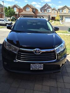 Toyota Highlander Hybrid Available for Rent WITH DRIVER!!
