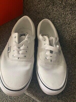 womens white vans size 6 Brand New Never Worn