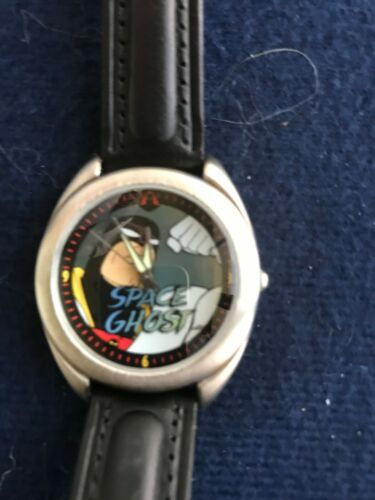 SPACE GHOST 1996 Limited Edition Fossil Watch  2500 issued  comes with TV box