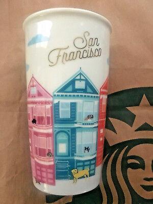 12 Ounce To Cup (Starbucks 2017 Local Collection To Go Cup Tumbler Mug SAN FRANCISCO 12oz)