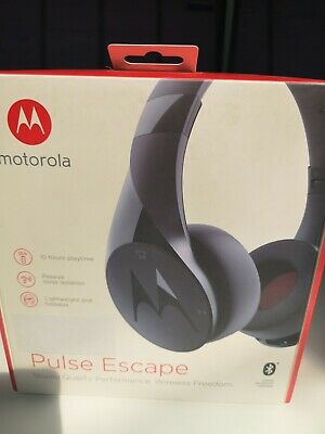 Motorola Pulse Escape Wireless Bluetooth Headphones BLUE BNIB