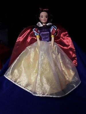 "SNOW WHITE DOLL Barbie Mattel 12""  Pre owned"