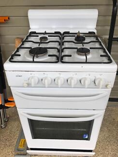 Chef gas oven & 4 burner cooktop unit
