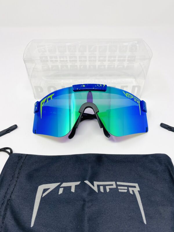 Pit Viper Polarized Cycling Sunglasses Sport Goggles for Men/Women Outdoor UV400