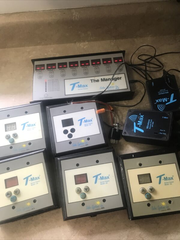 t max the manager and timers untested for parts