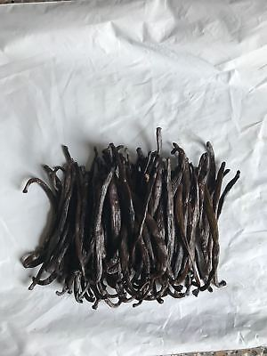 10 Grade B Extract grade Bourbon Vanilla Beans [4 inches]