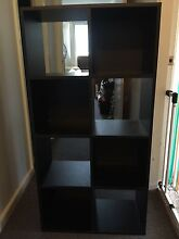 Black 8 Cube Storage Bookcase Riverstone Blacktown Area Preview