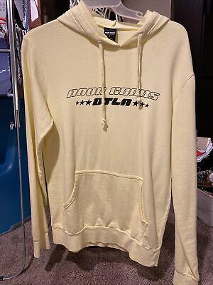 Noon Goons Yellow Pullover Hoodie Sweatshirt Mens Medium
