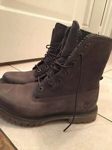 Timberland suede boots 7.5 Women's