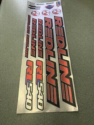 Redline 1981Onwards Mx 111 Decals Sticker Set Suit Your Old School BMX