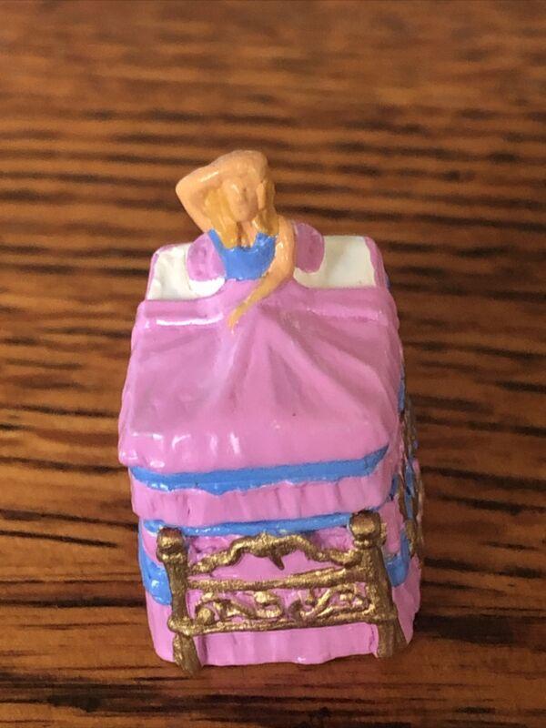 Thimble English Pewter Princess and the Pea