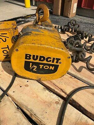Budgit 12 Ton Electric Hoist