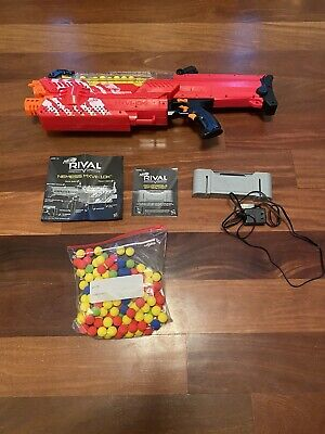 NERF Gun - RIVAL NEMESIS MXVII-10K with Rechargeable Battery and 225 Ammo Rounds