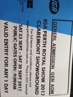 Royal Show tickets