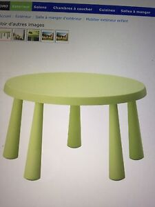 Table et chaises Ikea pour enfant / Ikea kids table and chairs
