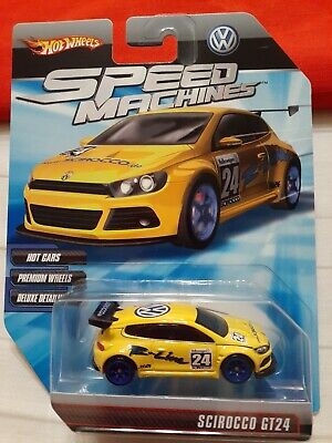 HOT WHEELS SPEED MACHINES SCIROCCO GT24 yellow 2009