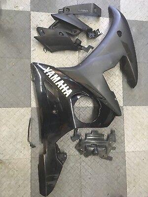 Yamaha R6S R6 OEM Left Side Fairings And Inner Panels 09