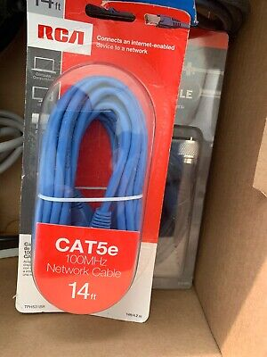 NEW BELKIN 14 FT CAT5e NETWORK ETHERNET CABLE~CONNECT ROUTER MODEM TO COMPUTER ()