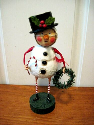 ESC Lori Mitchell New Christmas Chilly Willy Snowman Figure