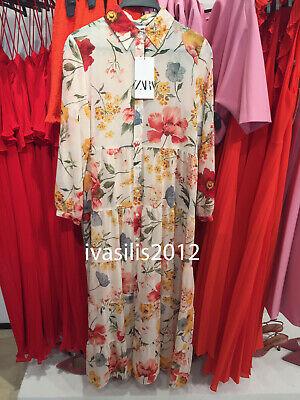 bdf321b9 Zara Floral Dress Xs : Discounts: 20%, 30%, ... Online. Yes. Zara ...