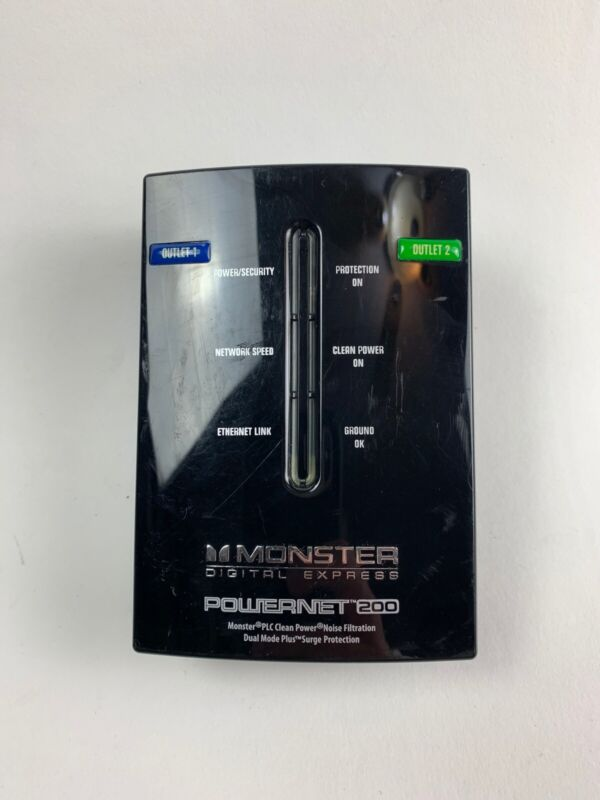 Monster PowerNet 200 Powerline Network Module with Clean Power