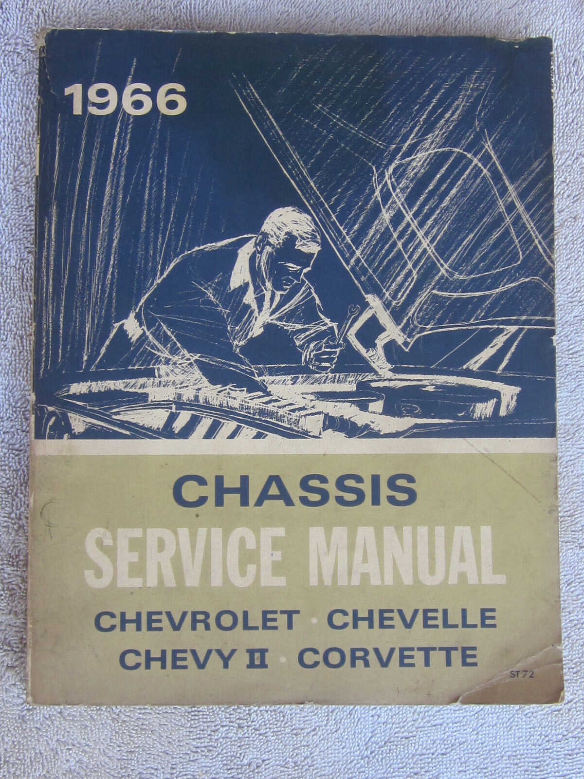 1966 Chevrolet Corvette Chevy II Chevelle Chassis Body Service Manual complete