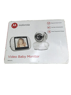 Motorola MBP33XL Video Baby Monitor And Camera