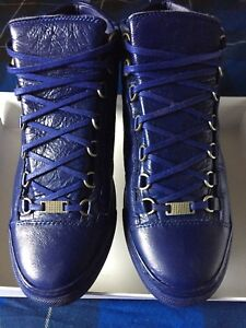 Royal blue Balenciaga arenas like new !!!with box and bag