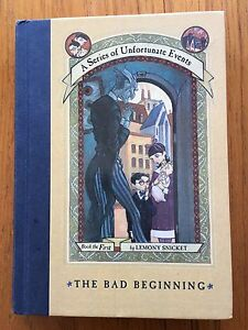 A Series of Unfortunate Events -The Bad Beginning **1st ed.**